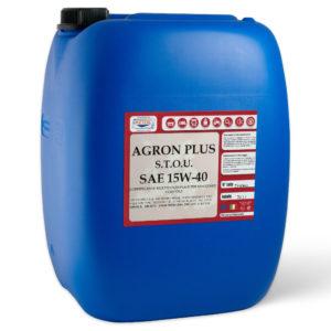 AGRON PLUS SAE 15W-40 - Lubrificante multifunzionale per macchine agricole