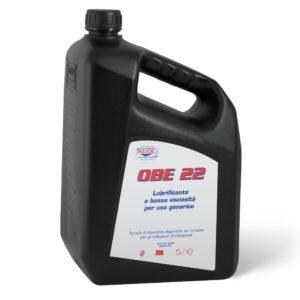OBE 22 - Lubrificante a bassa viscosità per uso generico OBE 22